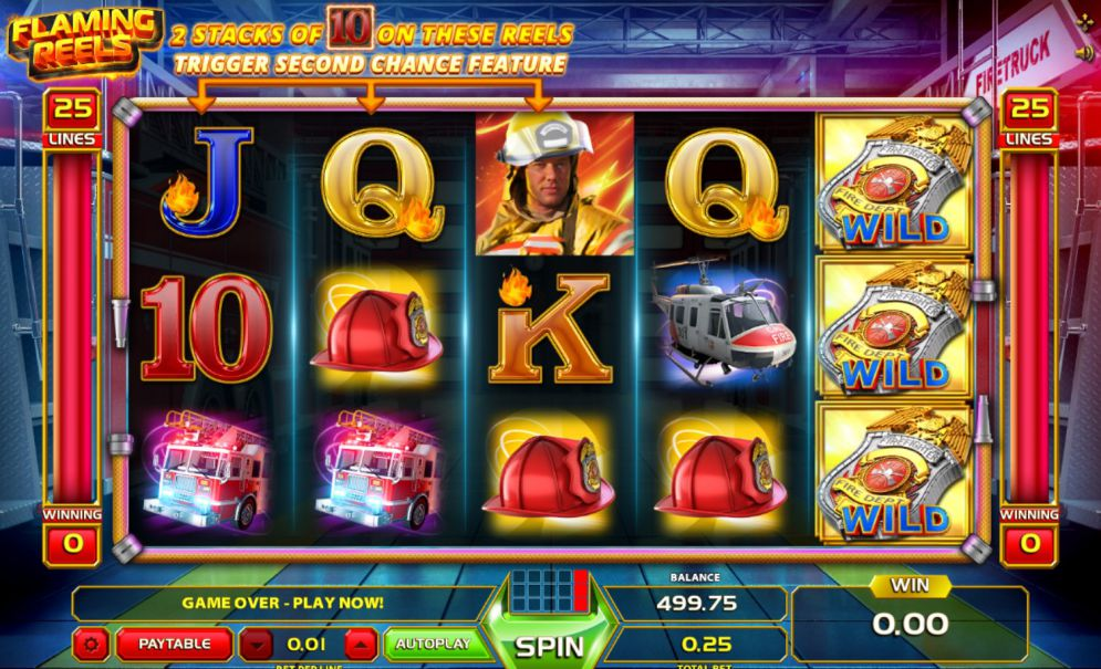 Flaming Reels Slot Review – Play at Casino442