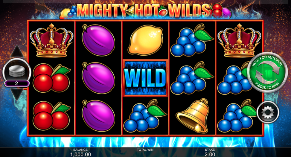 Mighty Hot Wilds Slot Review – Play at Casino 442